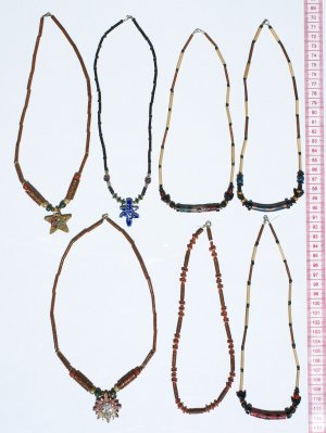 4 Tribal Necklaces Exotic Jewelry Fashion Accessories