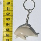 Hand Carving Tagua Key Chain Sea Dolphin Art of Ecuador