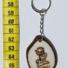 Garfield Cartoon Picture Tagua Flat KeyChain, Child Art