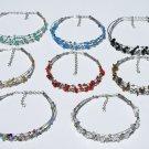 7 Necklaces Alpaca and Stones Jewelry Wholesale Peru