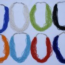 3 Necklaces of Pearl Threads Art Peru Jewelry Wholesale