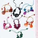 6 Color Seeds Tagua Bracelets Ethnic Jewelry Wholesale