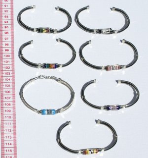 7 Cuff Bangle Metal Bracelets Handmade Peruvian Jewelry