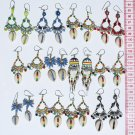 7 Pairs Color Pearls Earrings Ethnic Fashion Jewelry