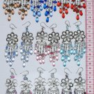 6 Pairs Alpaca Earrings Murano Cristal Peruvian Jewelry