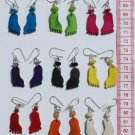 9 Pairs Color Earrings Feet Shape Original Jewelry Art