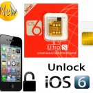 GEVEY ULTRA S iOS6 TURBO SIM UNLOCK iPHONE 4S~FREE USA SHIPPING