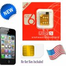 GEVEY ULTRA S iOS6 TURBO SIM UNLOCK iPHONE 4S ~ FREE USA SHIPPING