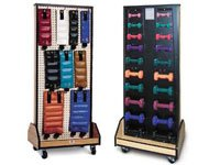 Combo Rack for Weights/Dumbell Black Ea