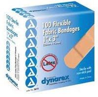 Bandage Fabric 1x3 100/Bx, 24 BX/CA