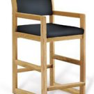 Chair Hip Wood-Line Oak Blue Ea