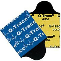Electrode Q-Trace Gold Resting 100/Pk, 20 PK/CA