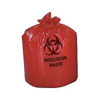 Biohazard Bag 4 Gallon 17x17 500/Ca