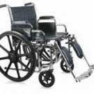 "Wheelchair Extra Wide 22"" Ea"