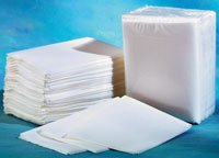 "Washcloth Disposable White 10""x13"" 500/Ca"