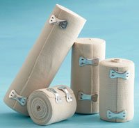 """Elastic Bandage w/Velcro LF NS 2""""x4.5yds 10/Bx"""