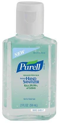 Purell Sanitizer Hand w/Aloe 2oz 24/Ca