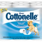 Cottonelle Soft Bath Tissue 1 Ply 12/Bg, 4 BG/CA