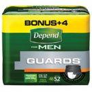Depend Guard f/Men Bonus Pack Unisize 2x52/Ca