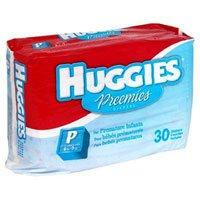 Diaper Huggies Preemie 30/Pk, 6 PK/CA