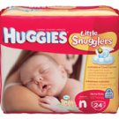 Diaper Huggies Ultra Trim Newborn 24/Pk, 12 PK/CA