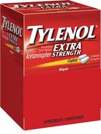 Tylenol X-Strength Caplets Indust 500mg 50x2/Bx