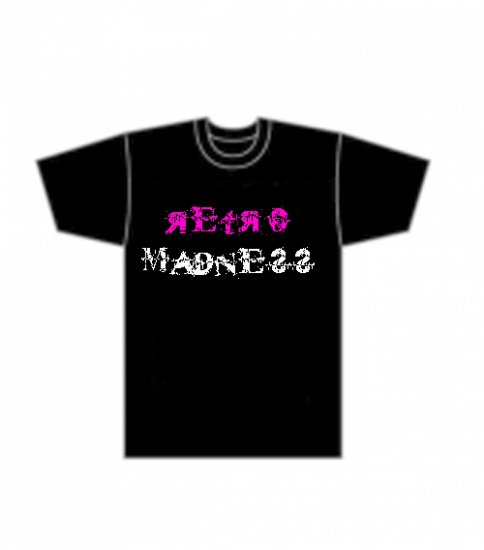Retro Madness T-shirt £12.00/$22.00