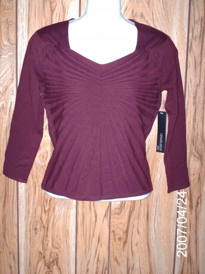 NWT Ideology V-Neck Top Petite Small