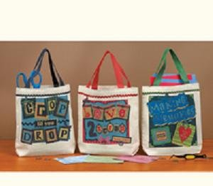 Set of 3 Mini Scrapbooking Totes