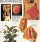 Kitchen Crochet Snipped Patterns