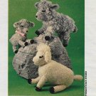 Cuddly Lambs Crochet Snipped Pattern