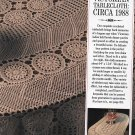 Victorian Tablecloth Crochet Snipped Pattern