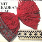 Knit Headband and Cap Patterns
