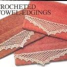 Crochet Towel Edging Pattern