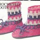 Crochet Adult Boots Pattern