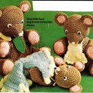 The 3 Bears Snipped Crochet Patterns