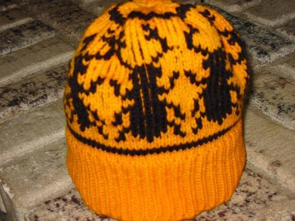 Custom Figural Knit Stocking Cap for Child-most any design-hand designed and crafted