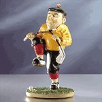 Frustrated Golfer Figurine
