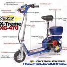 XG-470 X-Treme 49cc Gas Scooter Model