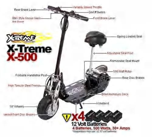 X-Treme X-500 Solid Electric