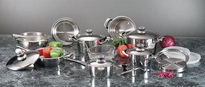 Maxam 22pc Super Cookware Set