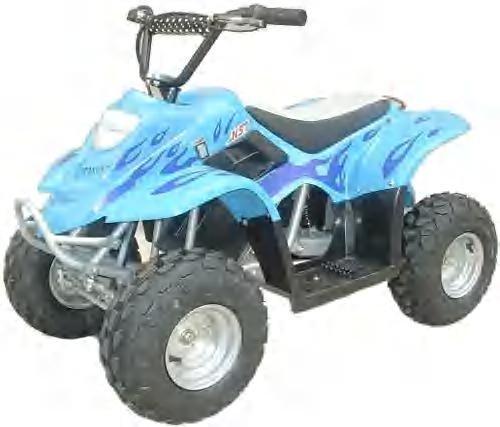 E-500 Electric ATV