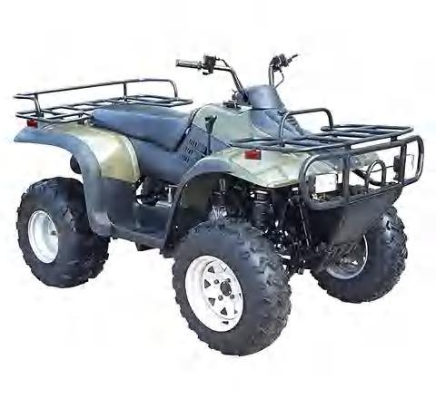 260cc Model 4 stroke ATV