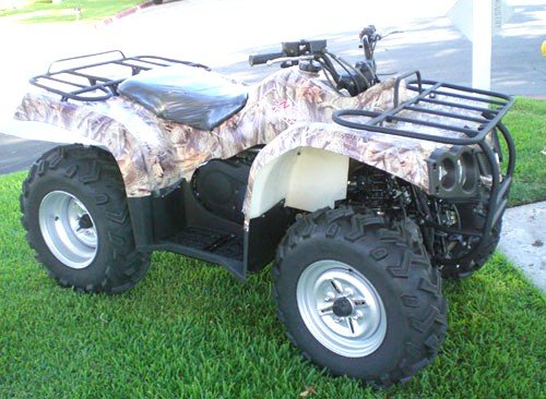 400S4 Model ATV