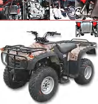 Fast ATV-02 4 stroke 250cc