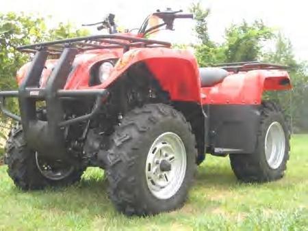Manuel Clutch BM ATV 400cc-Utility 4x4
