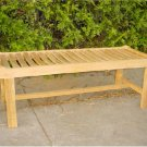 48 in Cambridge Backless Bench Teak