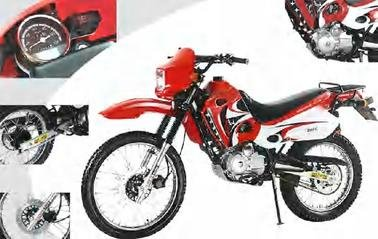 07A-4 stroke, 200cc-Dirt Bike