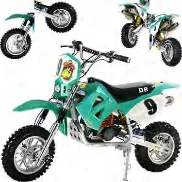 Displacement 49cc Dirt Bike