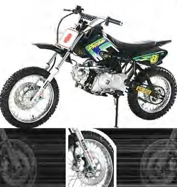 air-cooling Dirt Bike 110cc